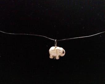 Elephant choker and earrings set