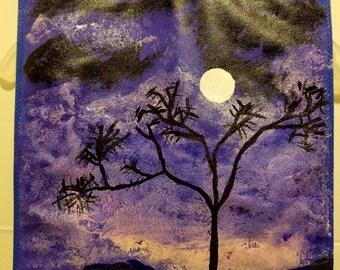 Nighttime in Purple