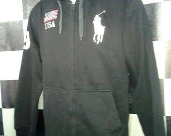 Polo Ralph Lauren sweatshirt jacket/American flat