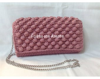 Clutch bag crochet