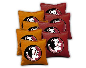 Florida State Seminoles Cornhole Bags - Set of 8