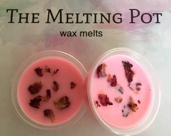 Rose Bud Fragranced Soy Wax Melt