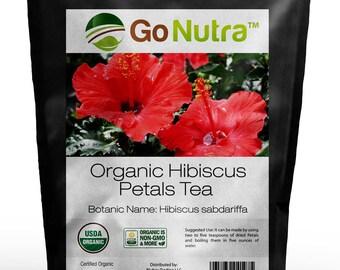 Hibiscus Petals Tea Organic 8oz