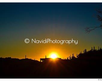 Arizona Sunset Print - Digital Print