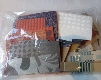 300g Scrap pack filled with various rich coloured paper and thin card offcuts. Perfect for scrapbooking and card making.