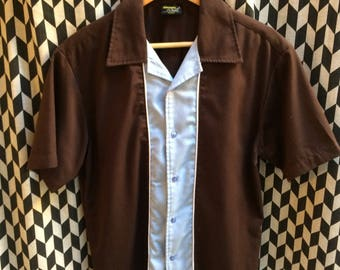 VINTAGE 60's L's Bowling shirt