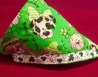 St Patrick's Day Dog Bandana