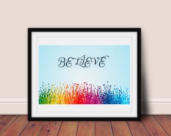 Art Print - Rainbow