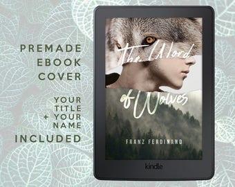 Premade Ebook Cover | Shifter, Werewolf, Lycan, Fantasy, Romance Novel