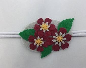 Burgundy Flower Bouquet
