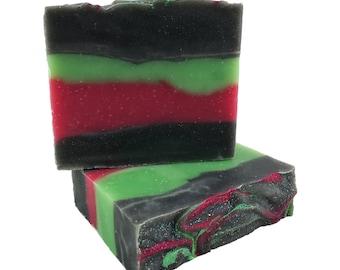 Northern Lights (Oatmeal, Milk & Honey) Artisan Soap from The Yukon Canada