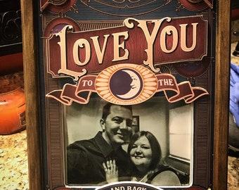 Framed Love Photo Display