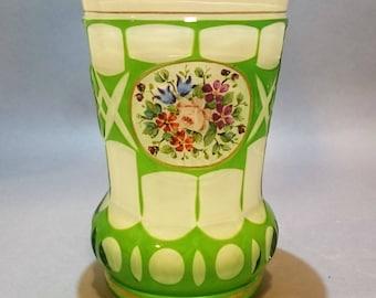 Antique Biedermeier Glass Goblet