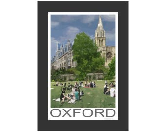 Summer at Christ Church College in Oxford