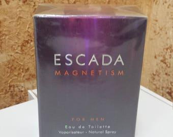 Escada Magnetism for Men Escada for men 50ml EDT Rare!