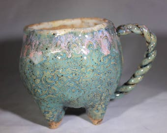 Braided Handle Mug
