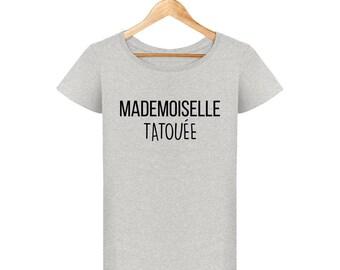 T-shirt tattoo Miss