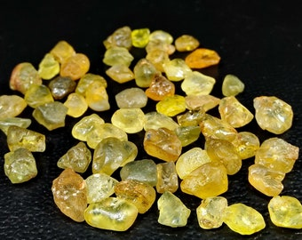 77.80 Unheated& Natural Multi Color Chrysoberyl Rough Lot