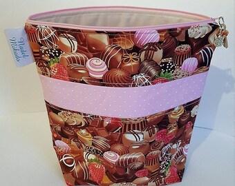 Project bag/knitting bag/Medium