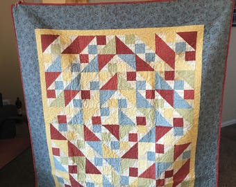 Flannel Quilt Front and Back