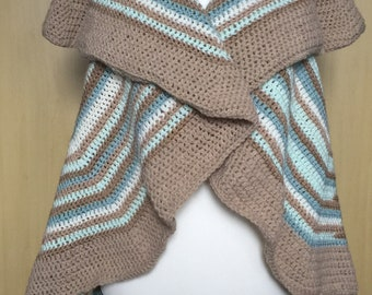 Crocheted Mandala Vest