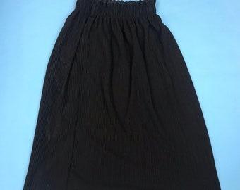 Flexible one size long dress