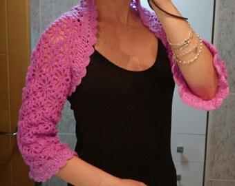 Pink French manga Crochet bullfighter
