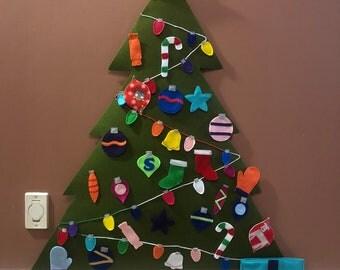Christmas tree decorating activity