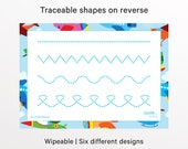 Tracing Lines, Tracing Shapes, eyfs, Learning, Learn To Write, Preschool, Tracing sheet, Learning Resources, Handwriting, Educational