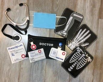 Doctor Playset, Hospital Playset, Pretend Play Doctor Set