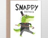 Custom Snappy Birthday Card
