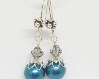 Blue Jazz Earrings