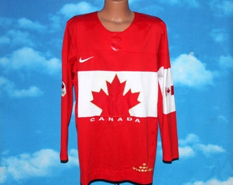 Team Canada Nike Olympic Hockey Jersey Medium