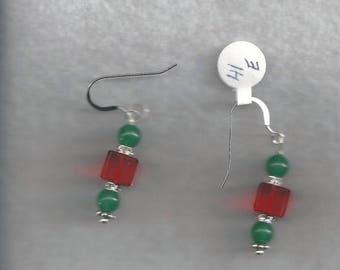 ON SALE Crystal Dangle Earrings