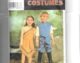 Simplicity Girls' and Boys' Costumes Pattern 0685