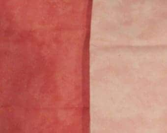 100 %  Cotton-Two Different Shades of Pink Fabric by Deborah Edwards of Northcott
