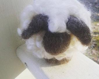 Baa Baa wool sheep - needle felt lamb 2