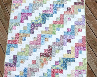 Calico Baby Quilt Baby Girl Nursery Bedding Crib Bedding