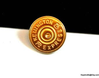 Remington Express 20 GA Brass Vintage Buttons Mix Lot of 29 Buttons Jean Jacket Buttons Assorted Sizes