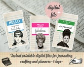 DIGITAL Positive Affirmation Journaling Cards-Empowerment Journaling Cards-  Instant Download Journaling Cards-Self Love Journaling Cards