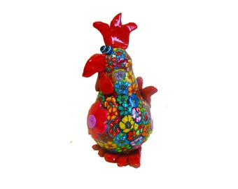 Chicken sculpture, chicken figure, chicken decor, collectible chicken, chicken decoration, chicken art, chicken, chicken figurine