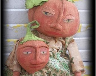 CustomerAppreciationSale Primitive Pumpkin Mama And Baby