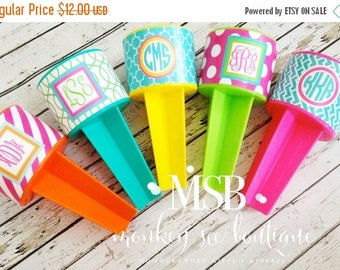 ON SALE Beach spiker with decorative wrap - perfect for beach trips, girls weekend, bachelorette party and vacations - custom printed vinyl