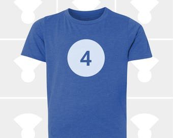 4th Birthday Shirt - Boys & Girls Unisex TShirt