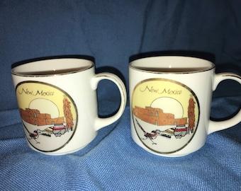 New Mexico Coffee Tea Cups Mugs