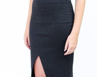 Megan Nielsen PATTERN - Axel Knit Skirt - Sizes XS to XL