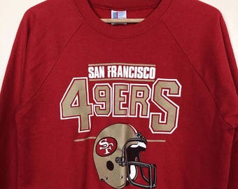 San Francisco 49'ers Vintage Crewneck Sweatshirt - Made in USA