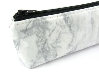 Marble Pencil Case - Pencil Pouch - Zip Pouch - Small Bag - Zipper Pouch - Planner Pencil Case Organiser