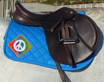 Be Happy! All Purpose Saddlepad from The Summer Love Collection LA-78