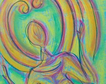 SALE Original Expressive Energetic Angel Spirit Guide YomaYay